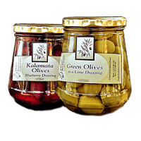 Olives Riebeek Kasteel Olive products Olives in blueberry dressing