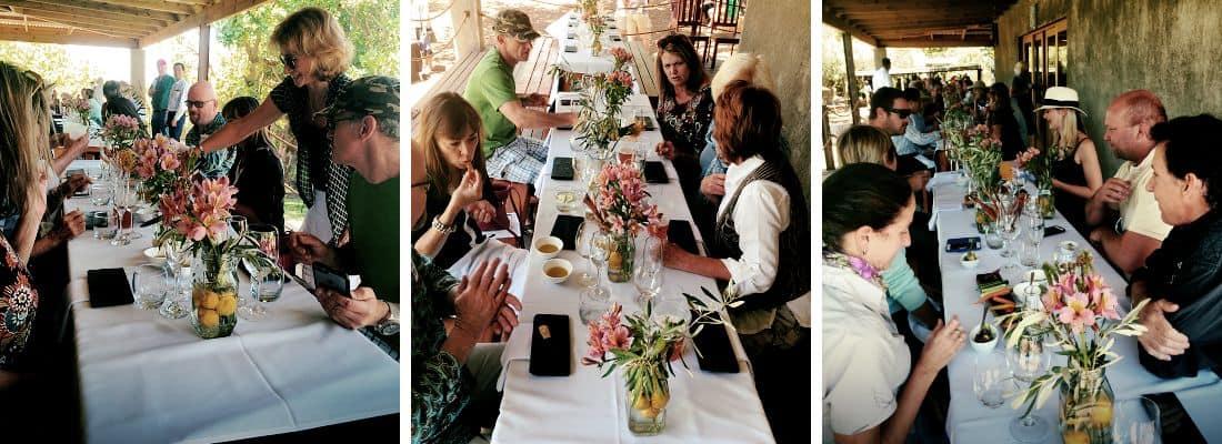 Long Table Olive Boutique Riebeek Kasteel